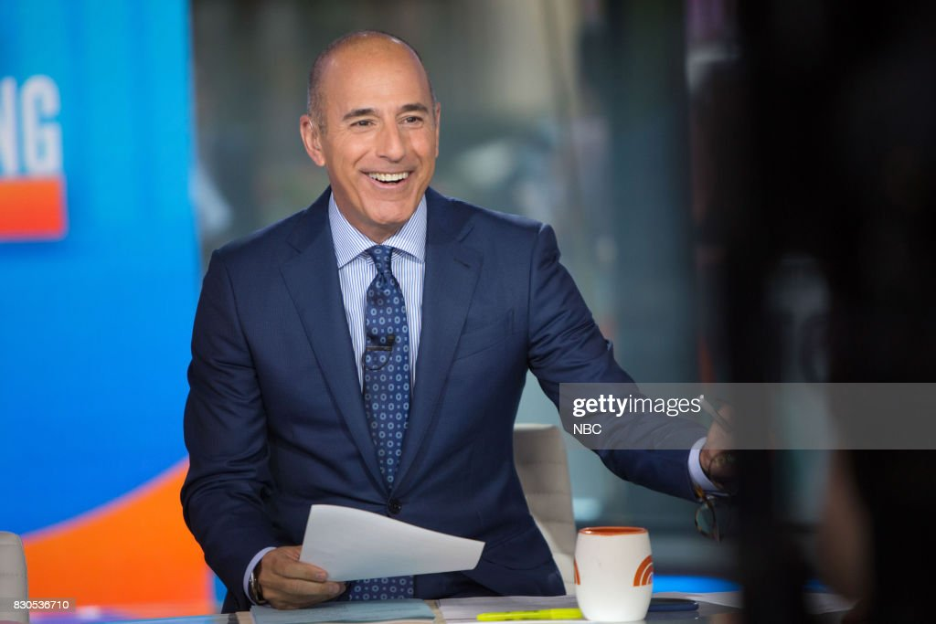 Matt Lauer on Friday, Aug.11, 2017 --