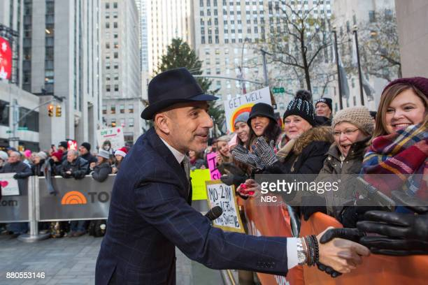 Matt Lauer on Monday November 27 2017