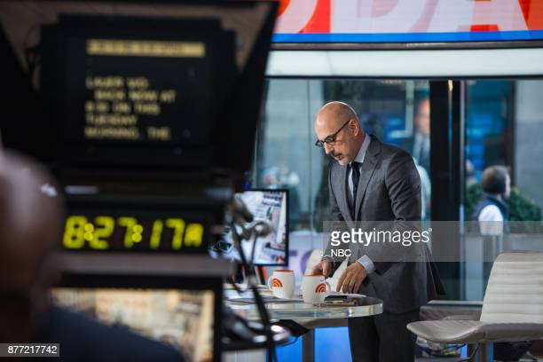 Matt Lauer on Tuesday November 21 2017