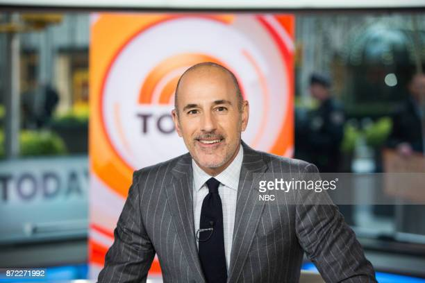 Matt Lauer on Wednesday November 8 2017