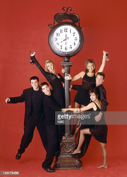 Matt LeBlanc as Joey Tribbiani, David Schwimmer as Ross Geller, Lisa Kudrow as Phoebe Buffay, Jennifer Aniston as Rachel Green, Matthew Perry as...