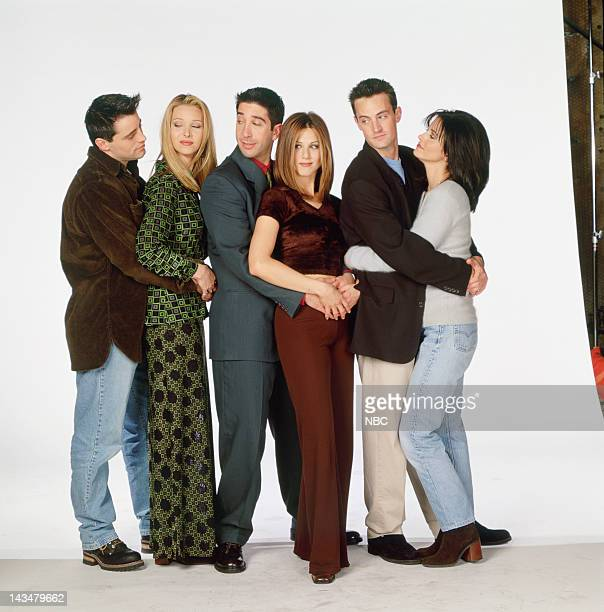 Matt LeBlanc as Joey Tribbiani Lisa Kudrow as Phoebe Buffay David Schwimmer as Ross Geller Jennifer Aniston as Rachel Green Matthew Perry as Chandler...