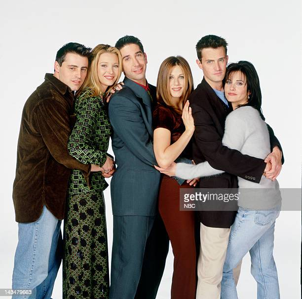 Matt LeBlanc as Joey Tribbiani, Lisa Kudrow as Phoebe Buffay, David Schwimmer as Ross Geller, Jennifer Aniston as Rachel Green, Matthew Perry as...