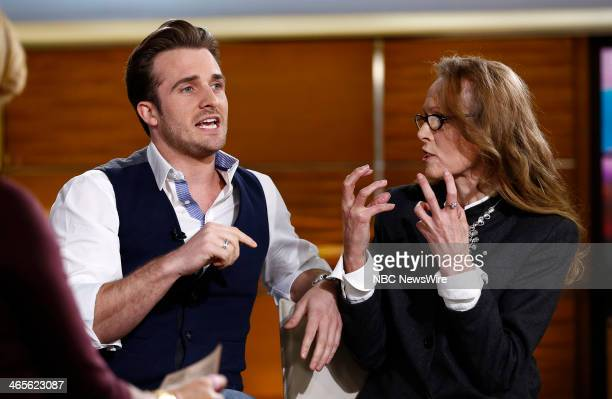 Matthew Hussey and E Jean Carroll appear on NBC News' Today show