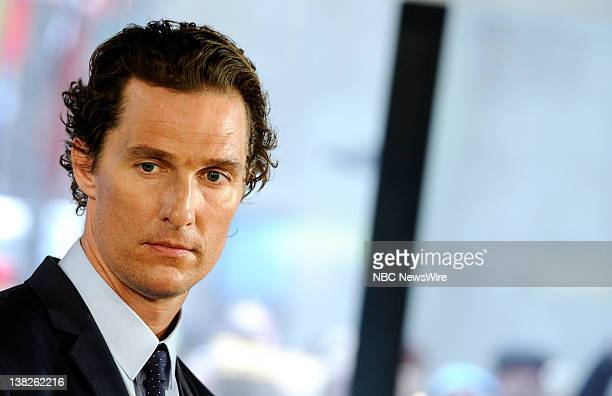 Matthew McConaughey appears on NBC News' Today show