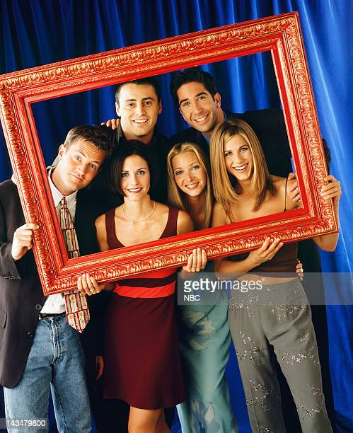 Matthew Perry as Chandler Bing, Courteney Cox as Monica Geller, Lisa Kudrow as Phoebe Buffay, Jennifer Aniston as Rachel Green Matt LeBlanc as Joey...