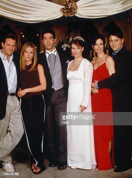 Matthew Perry as Chandler Bing Jennifer Aniston as Rachel Green David Schwimmer as Ross Geller Helen Baxendale as Emily Waltham Courteney Cox...
