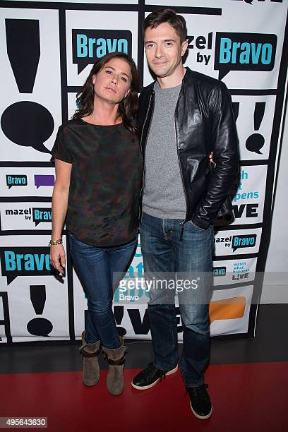 Maura Tierney and Topher Grace