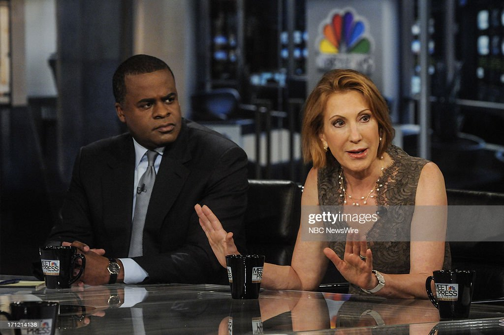 Mayor Kasim Reed Atlanta Ga Left And Carly Fiorina Former Ceo Of News Photo Getty Images