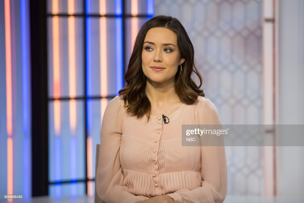 Megan Boone on Wednesday, January 3, 2018 --