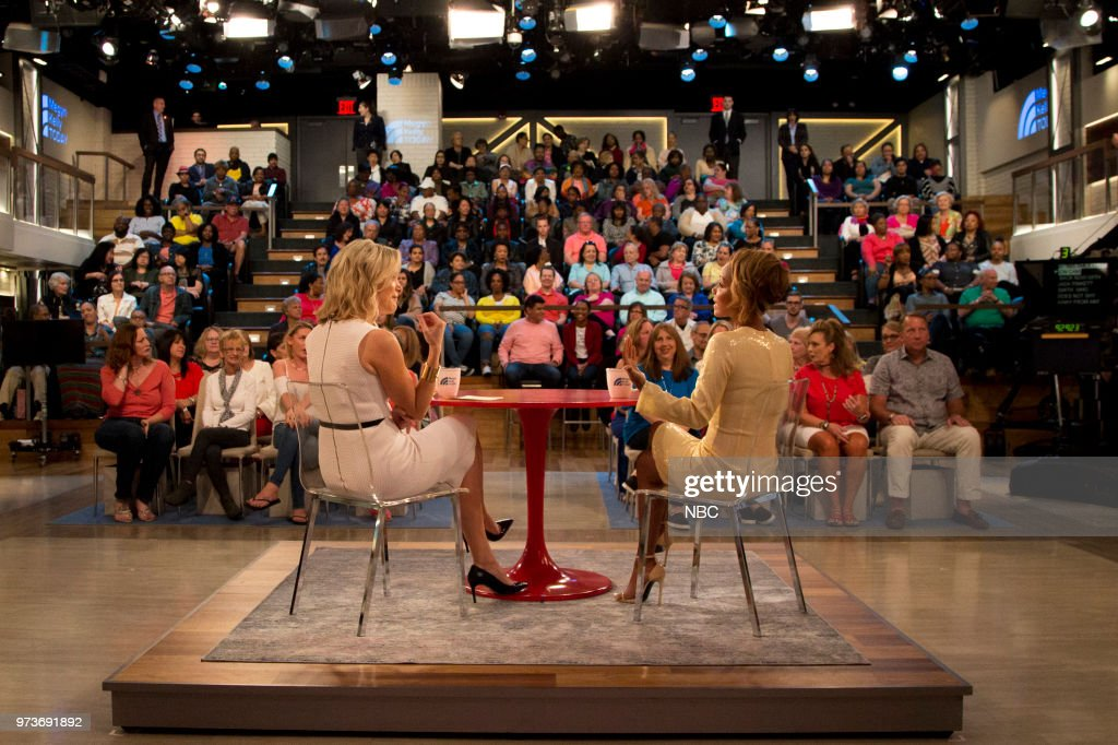 Megyn Kelly and Jada Pinkett Smith on Wednesday June 13, 2018 --