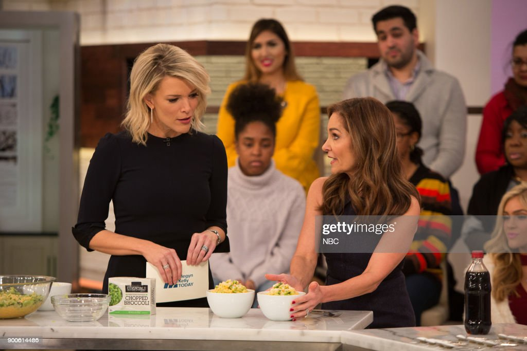 Megyn Kelly and Joy Bauer on Tuesday, December 2, 2018 --