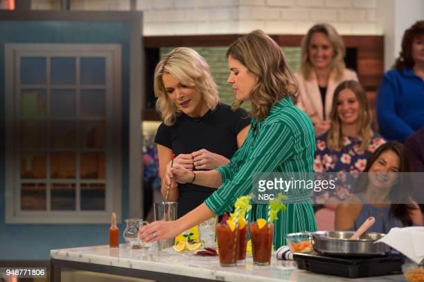 Megyn Kelly and Siri Daly on Thursday April 19 2018