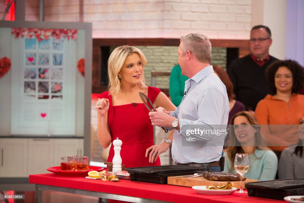 Megyn Kelly and Tim Love on Wednesday, February 14, 2018 --