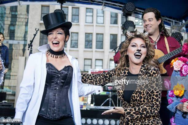 Megyn Kelly as Shania Twain and Shania Twain on Tuesday Oct 31 2017