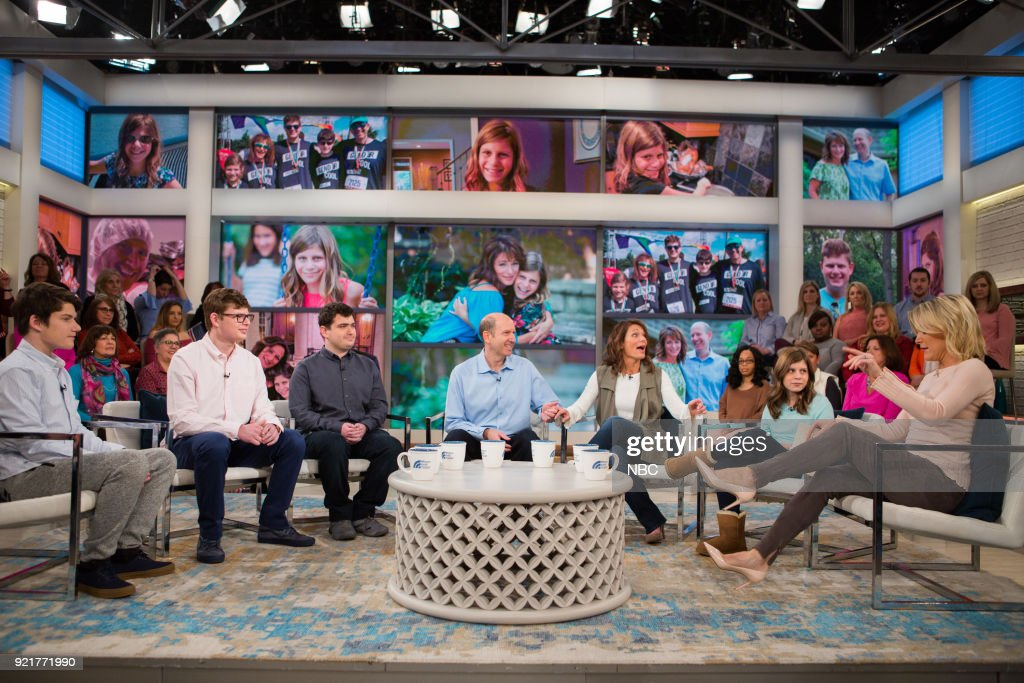 "NBC's ""Megyn Kelly TODAY"" with guests Matt Iseman, Akbar Gbajabiamila, Chazzie Grosshandler. Chris Mazdzer, Gender Cool Project"