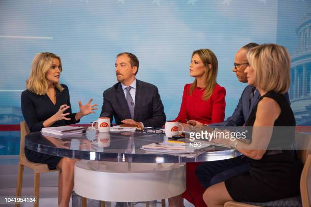 Megyn Kelly Chuck Todd Savannah Guthrie Lester Holt and Andrea Mitchell on Thursday September 27 2018