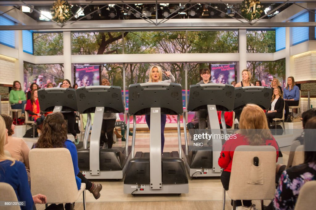 "NBC's ""Megyn Kelly TODAY"" with guests Charlie and Stacy send off, Christmas Giveaway, Sarah Pennington"