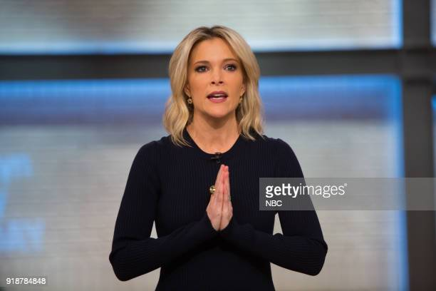Pictured: Megyn Kelly on Thursday, February 15, 2018 --
