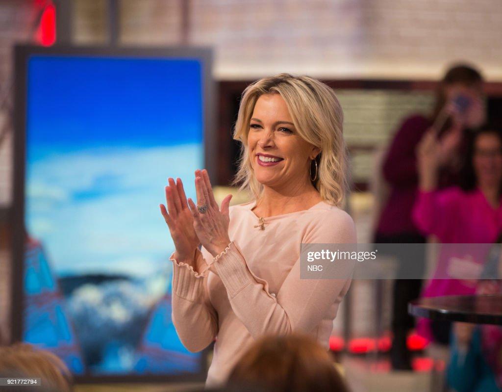 Megyn Kelly on Tuesday, February 20, 2018 --