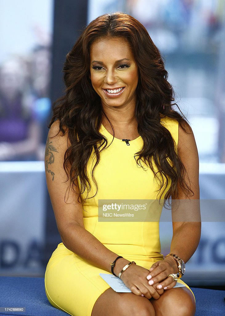 Melanie Brown (Mel B) appears on NBC News' 'Today' show --