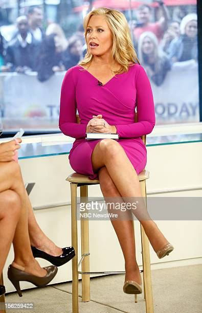Melissa Francis appears on NBC News' Today show