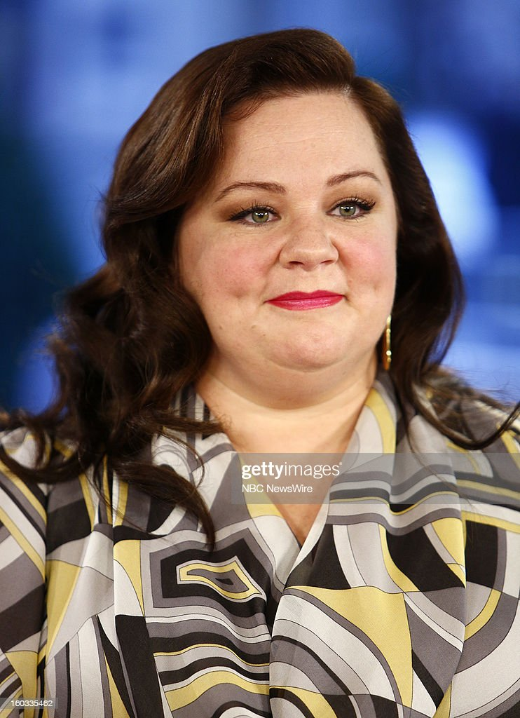 Melissa McCarthy appears on NBC News' 'Today' show --