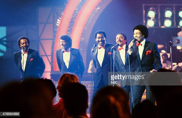 ROCK 'N' ROLL Pictured Melvin Franklin AliOllie Woodson Otis Williams Ron Tyson Richard Street of the Temptations