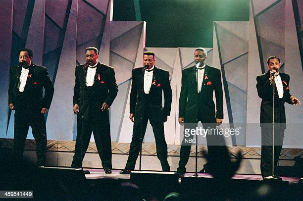 Melvin Franklin Otis Williams AliOllie Woodson Theo Peoples Ron Tyson of The Temptations