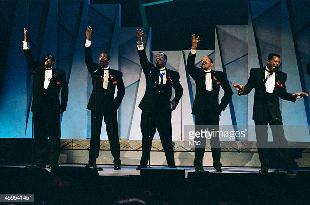 Melvin Franklin Theo Peoples Otis Williams Ron Tyson AliOllie Woodson of The Temptations