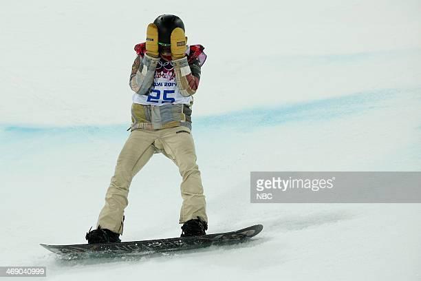 Men's Snowboarding Halfpipe Final Shaun White competes
