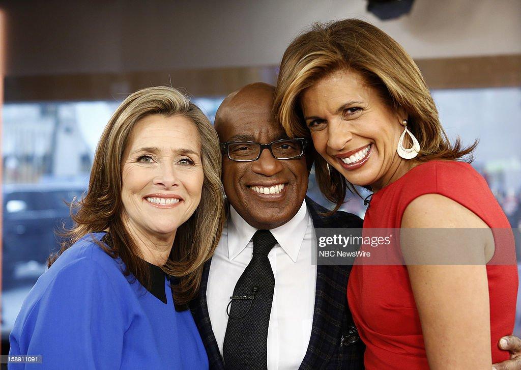 Meredith Vieira, Al Roker and Hoda Kotb appear on NBC News' 'Today' show --