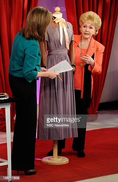 Meredith Vieira and Debbie Reynolds appear on NBC News' Today show
