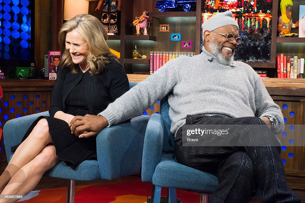 Meredith Vieira and Samuel L. Jackson --