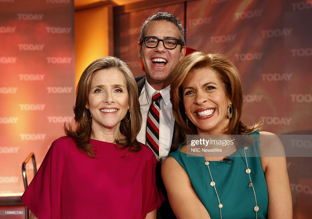 Meredith Vieira, Andy Cohen and Hoda Kotb appear on NBC News' 'Today' show --