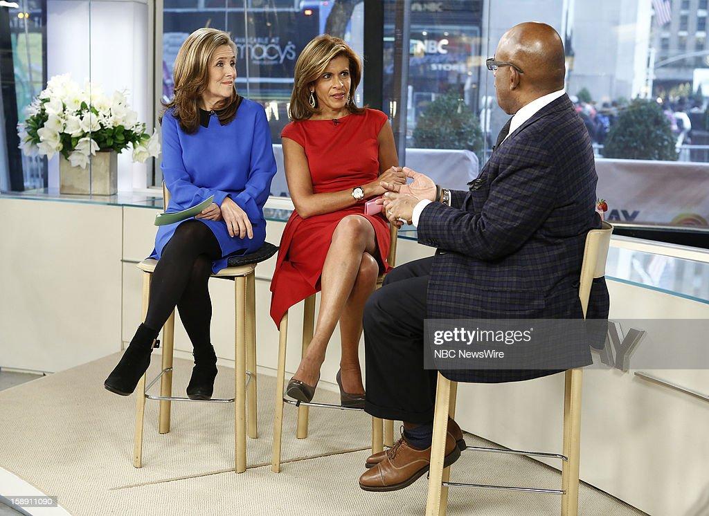 Meredith Vieira, Hoda Kotb and Al Roker appear on NBC News' 'Today' show --