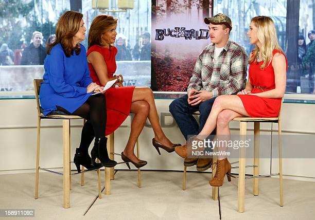 """Meredith Vieira, Hoda Kotb, Shain Gandee and Shae Bradley appear on NBC News' """"Today"""" show --"""