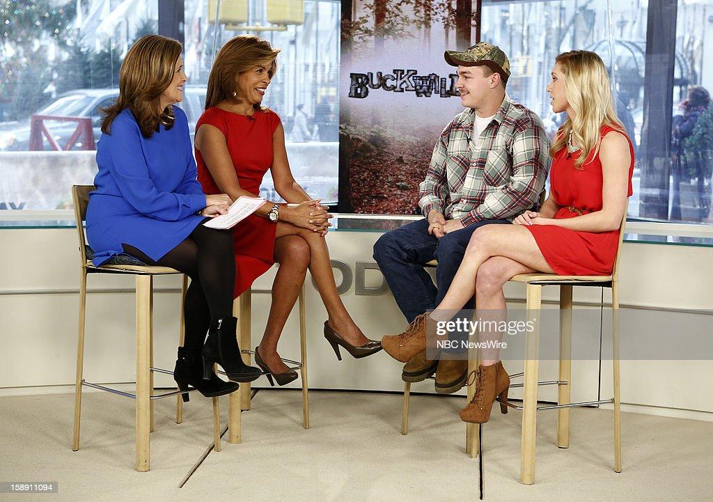 Meredith Vieira, Hoda Kotb, Shain Gandee and Shae Bradley appear on NBC News' 'Today' show --