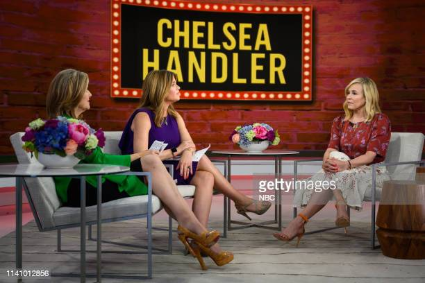 Meredith Vieira, Jenna Bush Hager and Chelsea Handler on Thursday, May 2, 2019 --