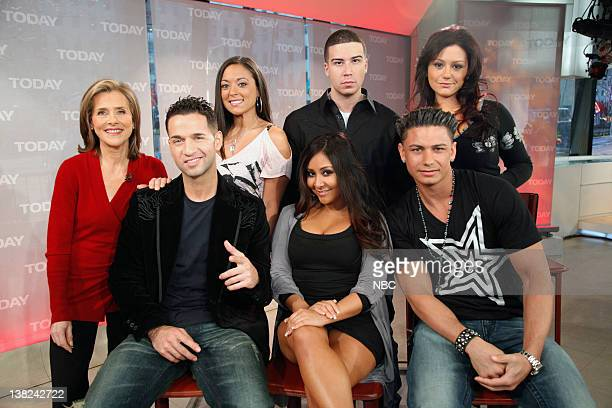 Meredith Vieira Mike 'The Situation' Sorrentino Sammi 'Sweetheart' Giancola Nicole 'Snooki' Polizzi Vinny Guadagnino Paul 'DJ Pauly D' DelVecchio...