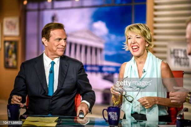 Michael Beschloss NBC News Presidential Historian Author Presidents of War and Danielle Pletka SVP Foreign and Defense Policy Studies at the American...