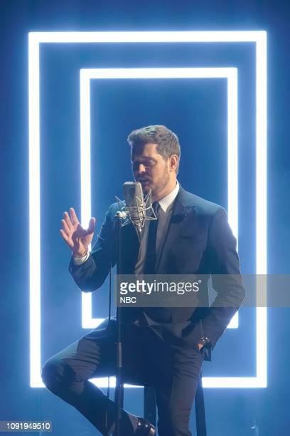 Michael Bublé Photo by Chris Haston/NBC/NBCU Photo Bank via Getty Images