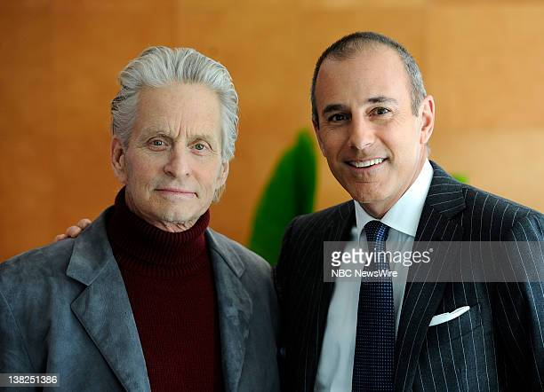 Michael Douglas sits down with NBC News' Matt Lauer for his first exclusive television interview since his cancer treatments