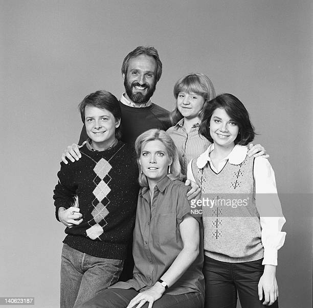 Michael J Fox as Alex P Keaton Michael Gross as Steven Keaton Meredith Baxter as Elyse Keaton Tina Yothers as Jennifer Keaton Justine Bateman as...