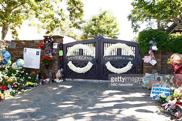Michael Jackson fans outside of Neverland Ranch -- NBC News' Matt Lauer gets an exclusive behind-the-scenes of Neverland Ranch, where Michael Jackson...