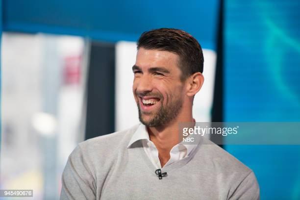 Michael Phelps on Thursday April 12 2018