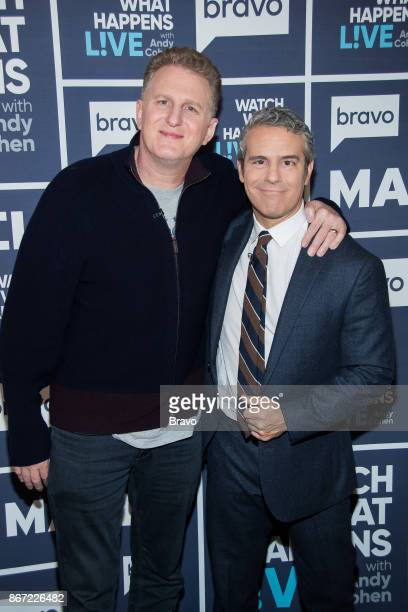 Michael Rapaport and Andy Cohen