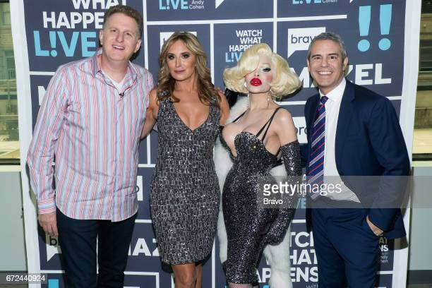 Michael Rapaport Sonja Morgan Amanda Lepore and Andy Cohen