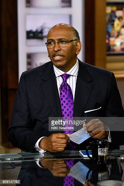 Michael Steele Former Chair Republican National Committee appears on 'Meet the Press' in Washington DC Sunday Dec 11 2016