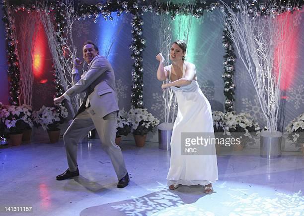 Michelle Brubaker and John Brubaker dance on NBC News' Today on December 6 2007 Photo by Heidi Gutman/NBCU Photo Bank
